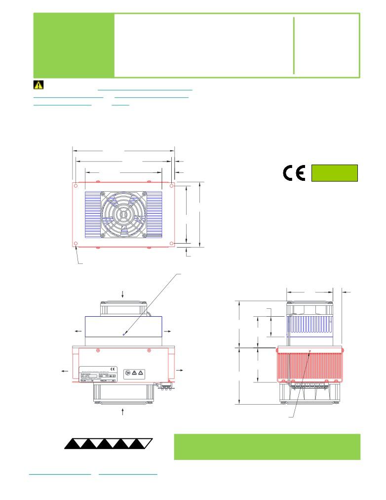 AC-073 dimensions
