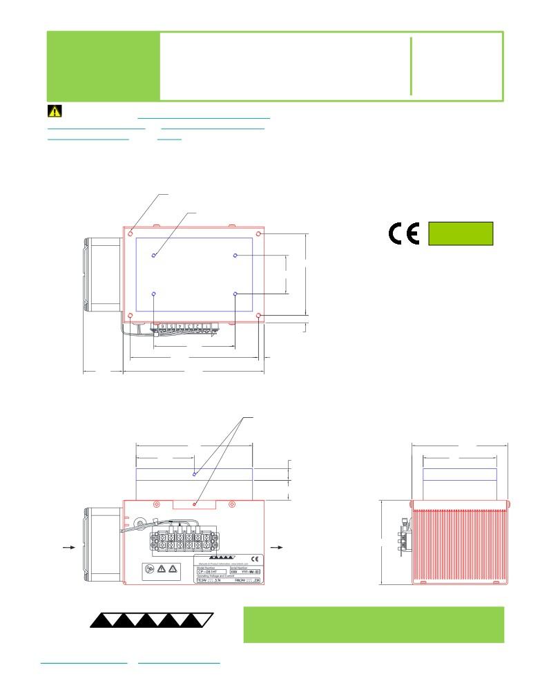 CP-061HT dimensions