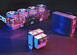 Custom thermoelectric Peltier cooling assemblies